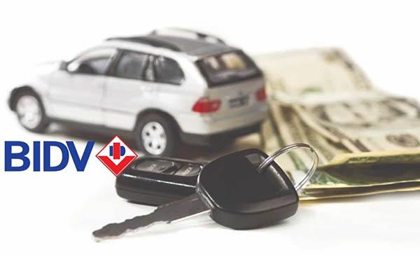 Thủ tục và hồ sơ mua xe trả góp ngân hàng BIDV đơn giản