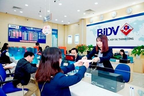 Lãi suất vay tiền kinh doanh tại BIDV