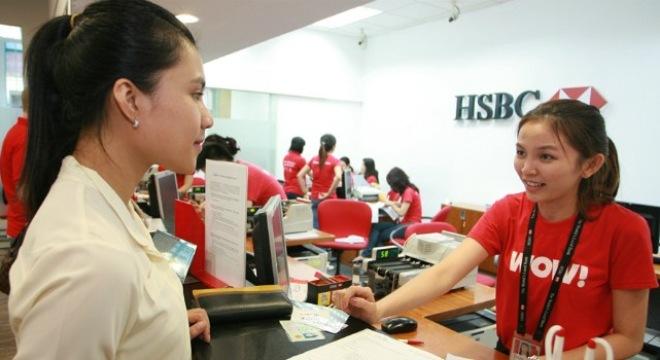 vay tín chấp ngân hàng HSBC