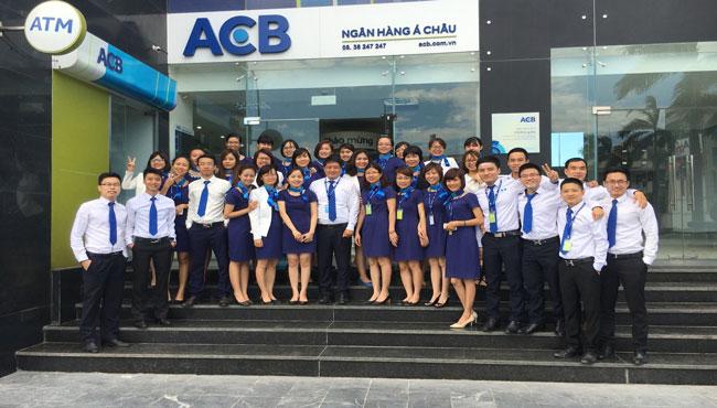 Lãi suất vay tín chấp ngân hàng ACB