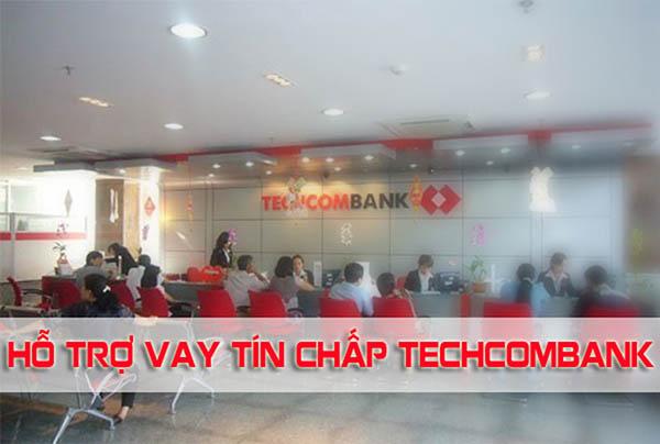 Quy trình vay tín chấp ngân hàng Techcombank đơn giản