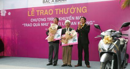 Lãi suất tiền vay, gửi tại ngân hàng Bắc Á