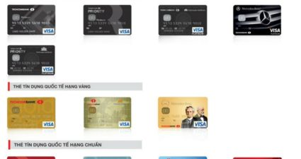 cách tính lãi suất thẻ tín dụng techcombank