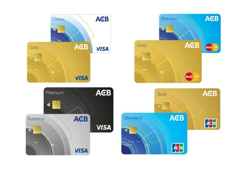mức lãi suất khi đến hạn thẻ tín dụng acb