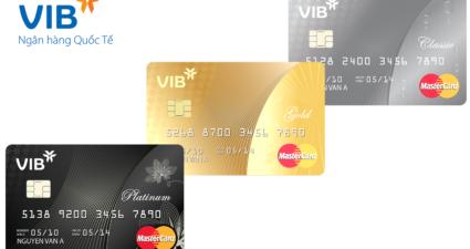 lãi suất thẻ tín dụng vib