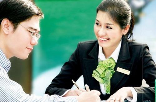 Quy trình vay tín chấp ngân hàng Vietcombank nhanh gọn