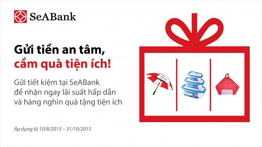 Khách hàng an tâm gửi tiền tiết kiệm tại SeaBank
