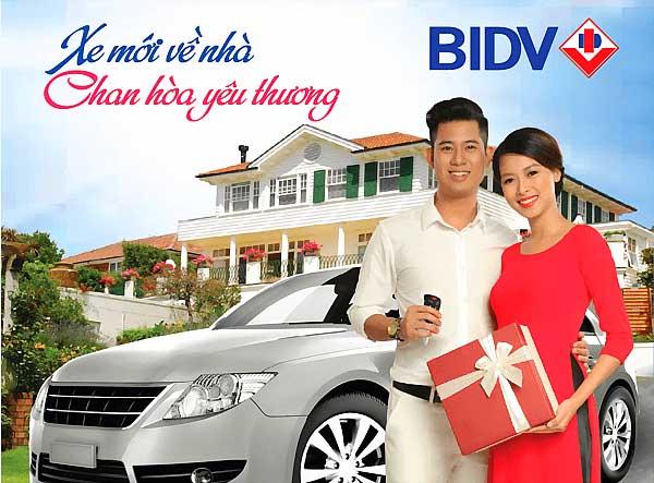 Vay mua ô tô trả góp lãi suất cực thấp tại BIDV