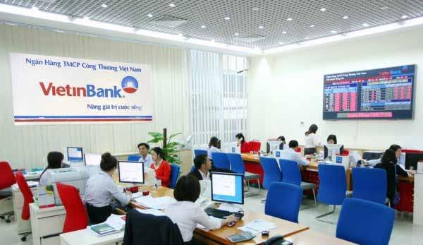 Vay vốn kinh doanh ngân hàng Vietinbank