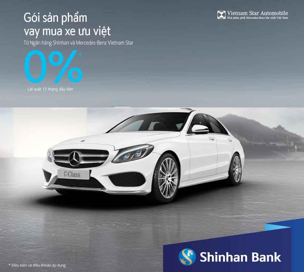 Vay mua xe ngân hàng Shinhanbank
