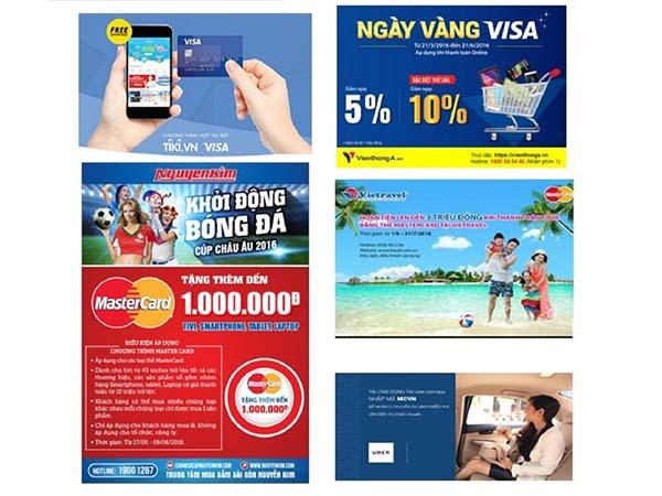 Ưu đãi, giảm giá dành cho Chủ thẻ BIDV Visa, MasterCard