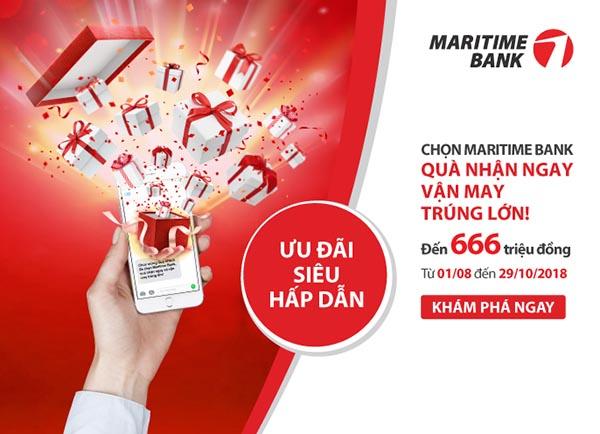 Lợi ích vay tại Martime Bank