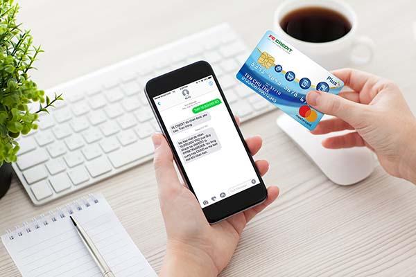 Mua sắm trực tuyến với thẻ FE Credit
