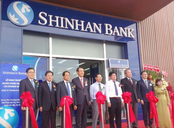 Lãi suất gửi tiết kiệm ngân hàng Shinhan Bank