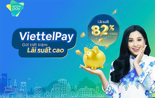 Lãi suất gửi tiết kiệm ViettelPay