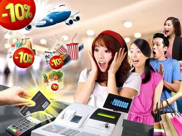 Thỏa thích mua sắm với thẻ tín dụng Techcombank