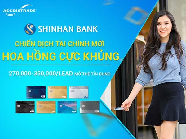 Ưu đãi thẻ tín dụng Shinhan Bank