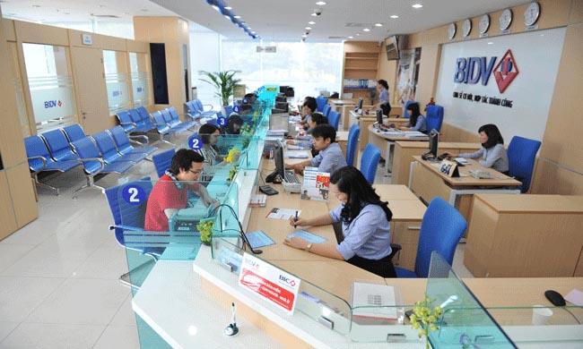 Khách hàng vay thế chấp tại ngân hàngBIDV